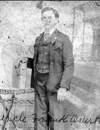 Henry Franklin Overby as a youth