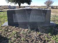 Boykin Moseley's tombstone
