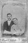 Thomas Jefferson Irvin and Hannah Cornelia Overby Irvin