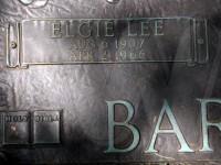 Elgie Lee barnfield grave marker detail