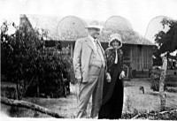 William Berry Bright Smith and Aunt Aut in 1928
