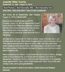 Juanita Pearl Barnfield Currie's obituary