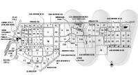Map of Fort Sam Houston Cemetery