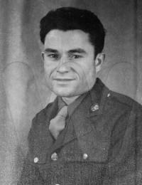 Cecil Desmond Barnfield in uniform