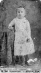 Bessie Overby as a child