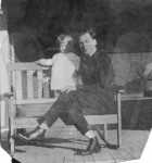 Julia Ann Smith and father Wallace B. Smith