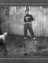Wallace Benjamin Smith and Dog