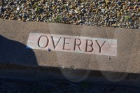 Frank and Lottie Overby plot marker