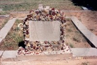Charles and Ollie Davis' grave site