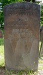 Tombstone of Martha (Vail) Johnson