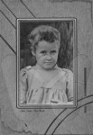 Mattie Jerushia Snavely as a young girl