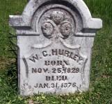 William Carroll Hurley tombstone top