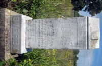 Maggie Ann Grinstead Overby's tombstone