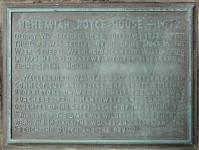 Nehemiah Royce house plaque