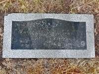 Carlene Moore's grave marker