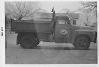 Carl Barnfield's work truck