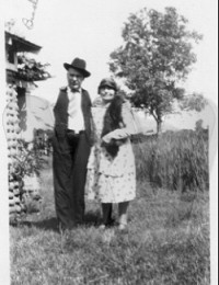 William Alfonso Smith and mother Martha Ann Hardin Smith