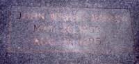 John Wesley Hardin's grave marker