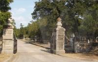 Oakwood Cemetery Entrance