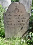 Phebe Baker Vail's tombstone