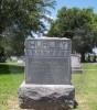 John A. Hurley's tombstone