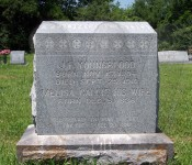 John Fanning Youngblood's tombstone