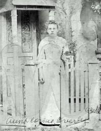 Cornie (Hannah Cornelia) Overby at age 15 (1896)