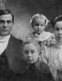 Tom, George, Lillie Mae and Cornie Irvin