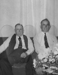"Henrly ""Frank"" Overby and his brother Robert Bertram ""Bert"" Smith Overby"