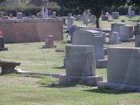 Bonifield family tombstone in Highland Cemetery, Okemah, Oklahoma