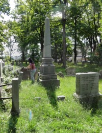Vail Family Plot at First Presbyterian Church in Morristown, NJ