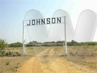 Entrance to Johnson Cemetery