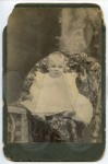 Frank Overby as a baby - unretouched scan