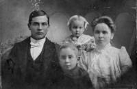 Tom, George, Lillie Mae and Cornie Irvin