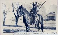 Frederick William Bonifield on horseback