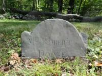 Robert Dodge's footstone