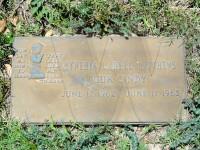 Cynthia LaDell Matthews' grave marker