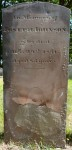 Joseph Johnson's tombstone