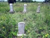 Grinstead and Overby tombstones in Denson cemetery