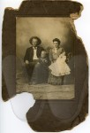John and Bessie (Overby) Witt and family - unretouched scan