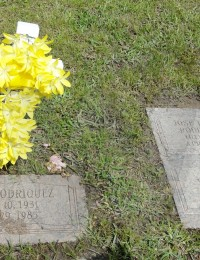 Gravemarkers for Felix Rodriguez and sons Lester and Patrick (blank)