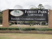 Forest Park Lawndale Cemetery Entrance