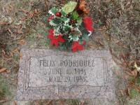 Felix Rodriguez's grave marker